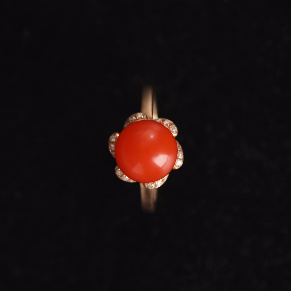 南国红豆 · 戒指